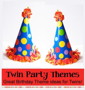 birthday party ideas and themes ; twinpartythemes