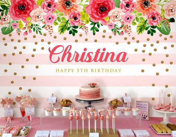 birthday party picture backdrops ; 5f99704a58a28d276e993170739def33--birthday-backdrop-flower-backdrop