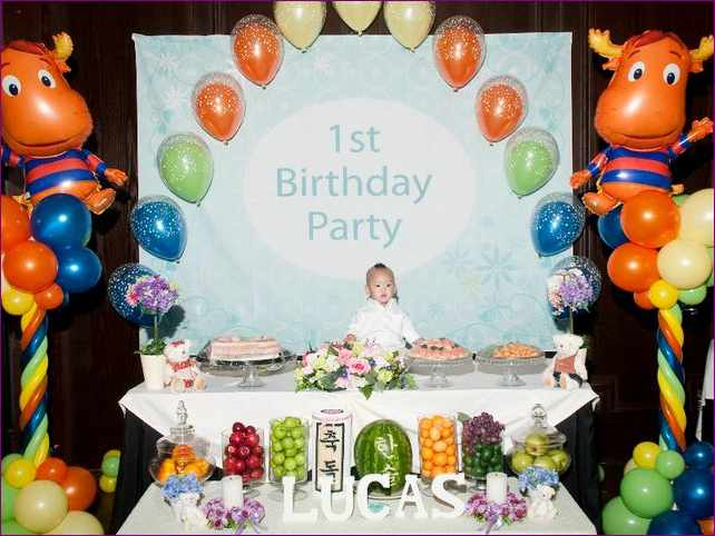 Birthday Party Themes For 1 Year Old