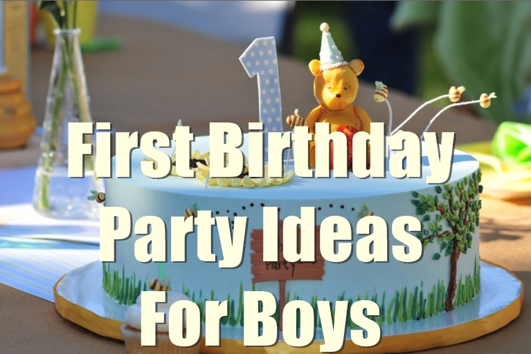 birthday party themes for 1 year old ; First-birthday-party-ideas-for-baby-boy