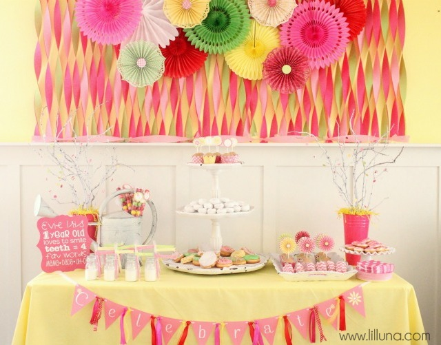 birthday party themes for 1 year old ; Girls-Party-Ideas-4