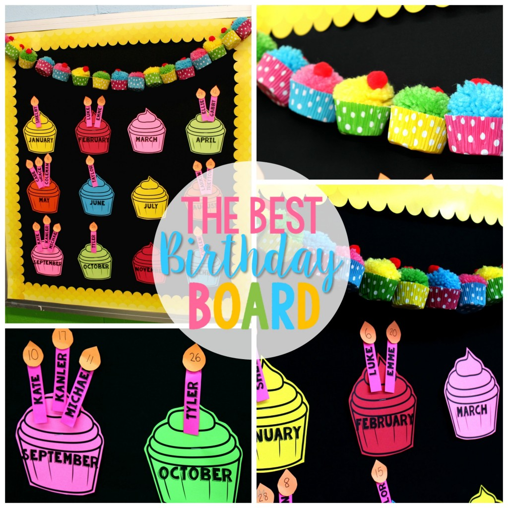 birthday picture display ; best-birthday-board-collage-1024x1024