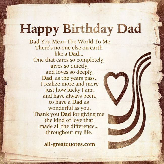 birthday poem for dad in heaven from daughter ; 2be57c01b27e02df5545ba4cff0dd516