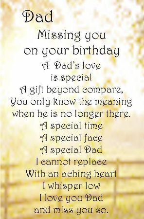 birthday poem for dad in heaven from daughter ; 32f9873798868532bc420302f30ed4a3