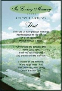 birthday poem for dad in heaven from daughter ; d804536bd42dafd491a7c1b1753a630e