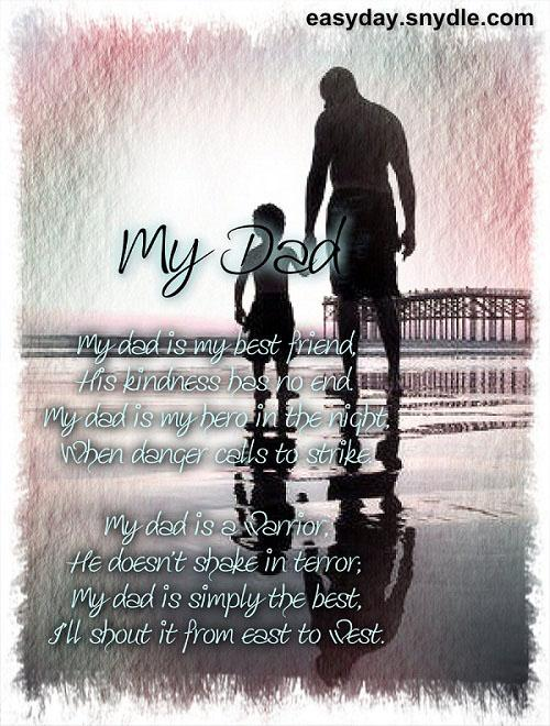 birthday poem for deceased father ; best-dad-poem
