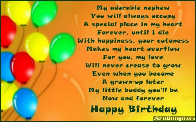 birthday poem for my niece ; Cute-birthday-quote-poem-for-a-sweet-nephew