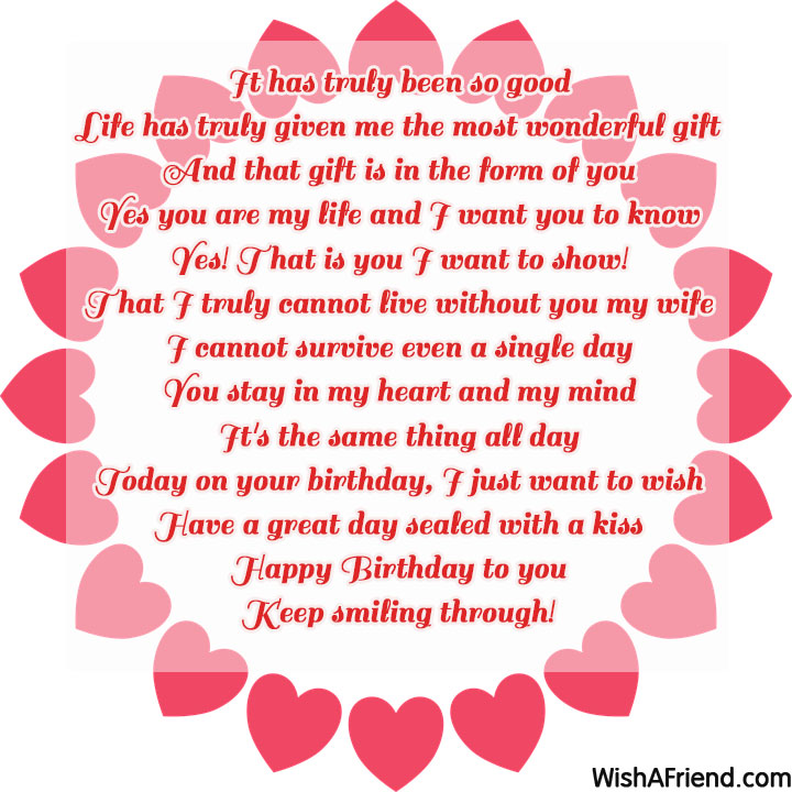 birthday poem for wife ; 15188-wife-birthday-poems
