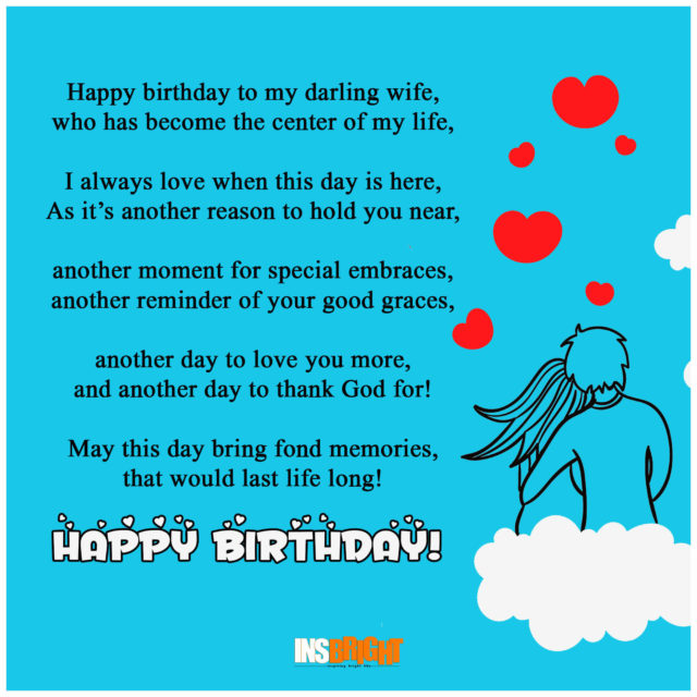 birthday poem for wife ; 24f13f77f4faaff6b425a2da1b53e94f