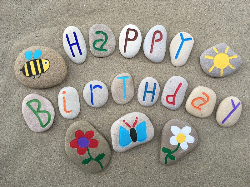 birthday poster making ; A-Happy-Birthday-Poster-Design