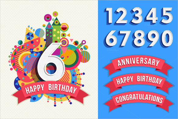 birthday poster making ; Designed-Birthday-Poster-Template