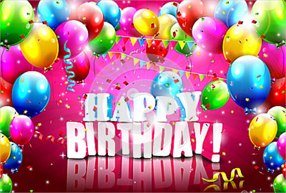 birthday poster making ; Modern-Birthday-Poster-Template