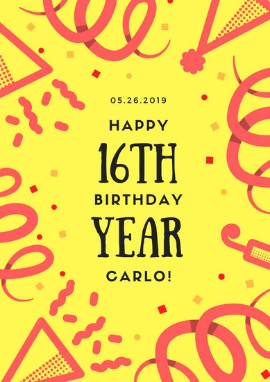 birthday poster making ; canva-bright-happy-birthday-poster-MAB2yci3qoc