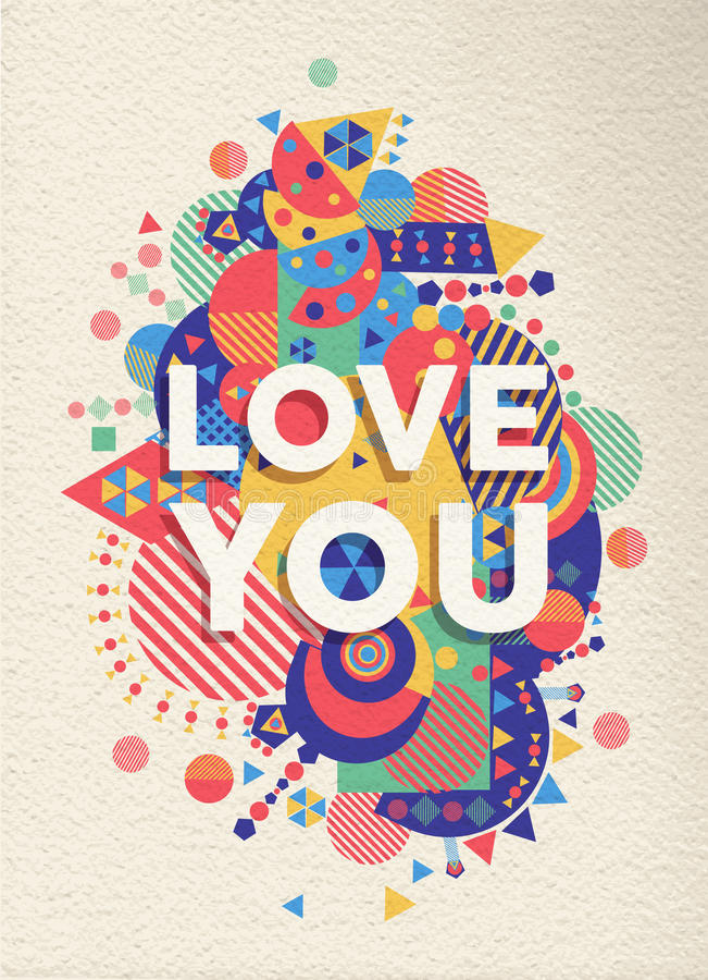 birthday poster making ; love-you-quote-poster-design-colorful-typography-inspirational-motivation-ideal-valentines-birthday-card-eps-vector-file-47549816
