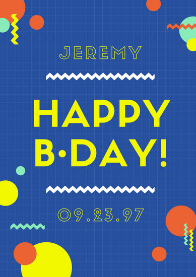 birthday poster online ; canva-blue-grid-colorful-birthday-poster-MAB_5Aq-xO4