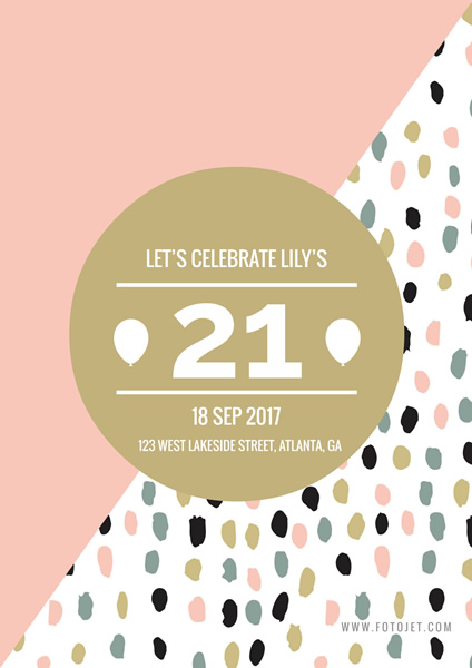 birthday poster online ; lily-21-birthday-poster