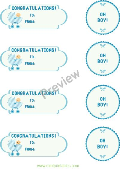 birthday present tags ; baby-boy-preview
