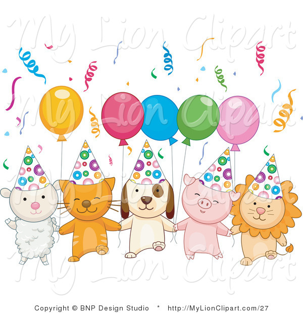 birthday puppy clipart ; vector-clipart-of-a-lamb-kitten-puppy-piglet-and-lion-celebrating-a-birthday-party-with-balloons-and-confetti-by-bnp-design-studio-27