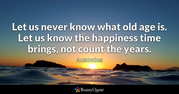 birthday quotes by authors ; ausonius1