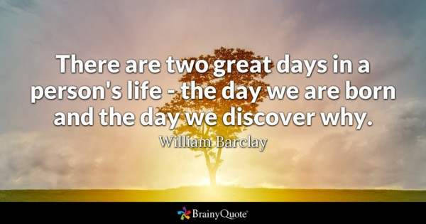 birthday quotes by authors ; williambarclay1