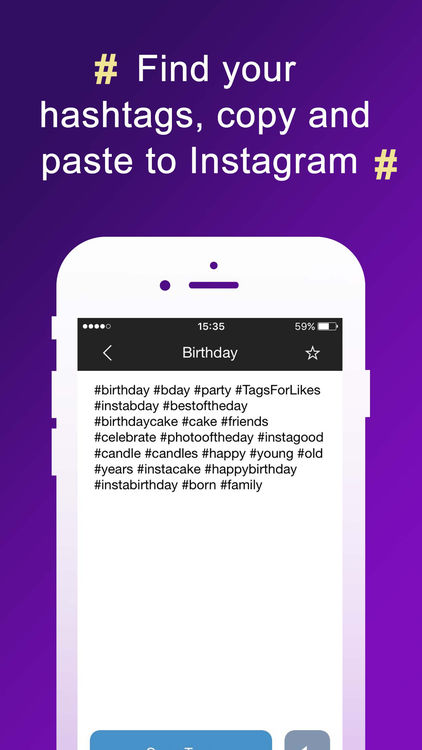 birthday tags for instagram ; 750x750bb