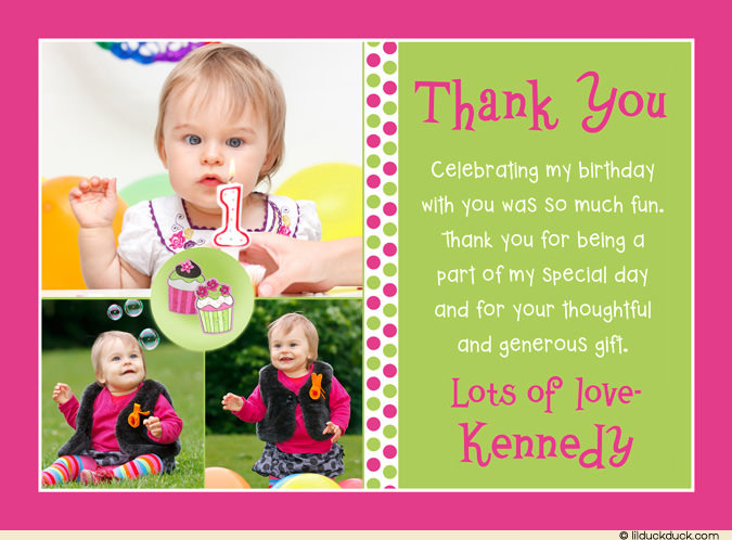 birthday thank you card message ; pink-brown-birthday-thank-you-notes-girl-polka-dot-birthday-thank-you-cards