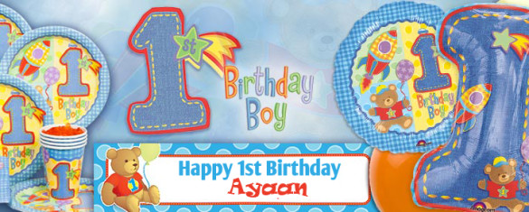 Birthday Theme Party For Baby Boy First Planner In