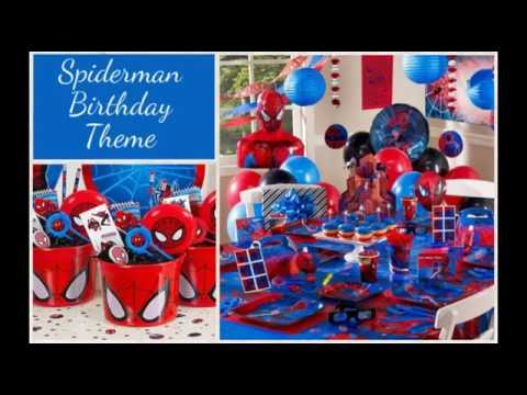 birthday theme party for baby boy ; hqdefault