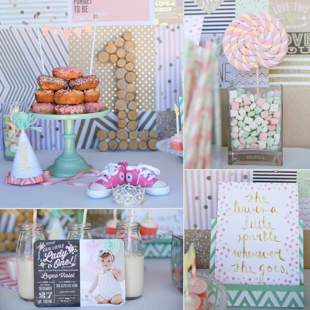 birthday themes and ideas ; First-Birthday-Party-Ideas-Girls