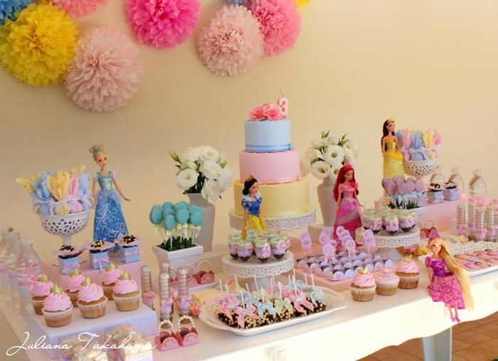 birthday themes and ideas ; Princess-Party