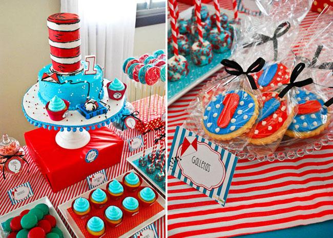 birthday themes for boys ; cat-in-the-hat-boys-birthday-party-483