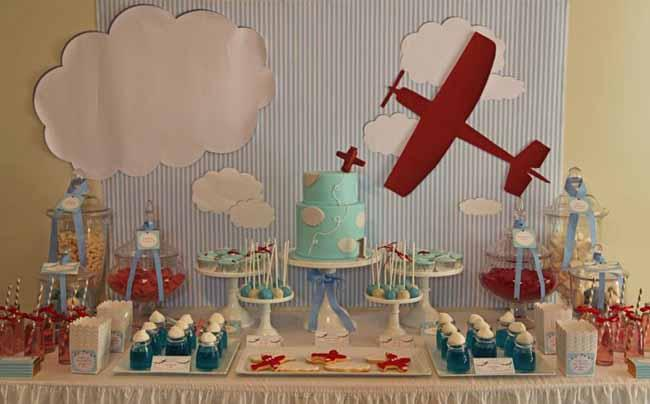 birthday themes for boys ; vintage-plane-first-birthday-party-ideas-for-boys-4850