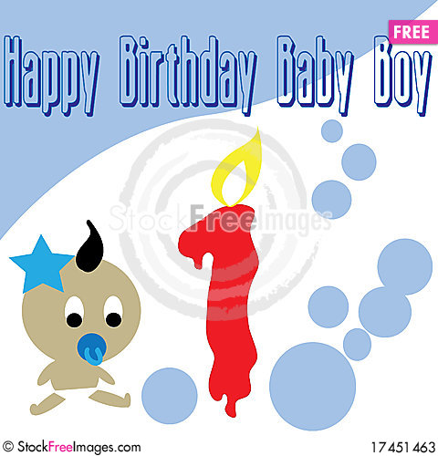 birthday wallpaper for baby ; Baby-boy-first-birthday-wallpaper-thumb17451463