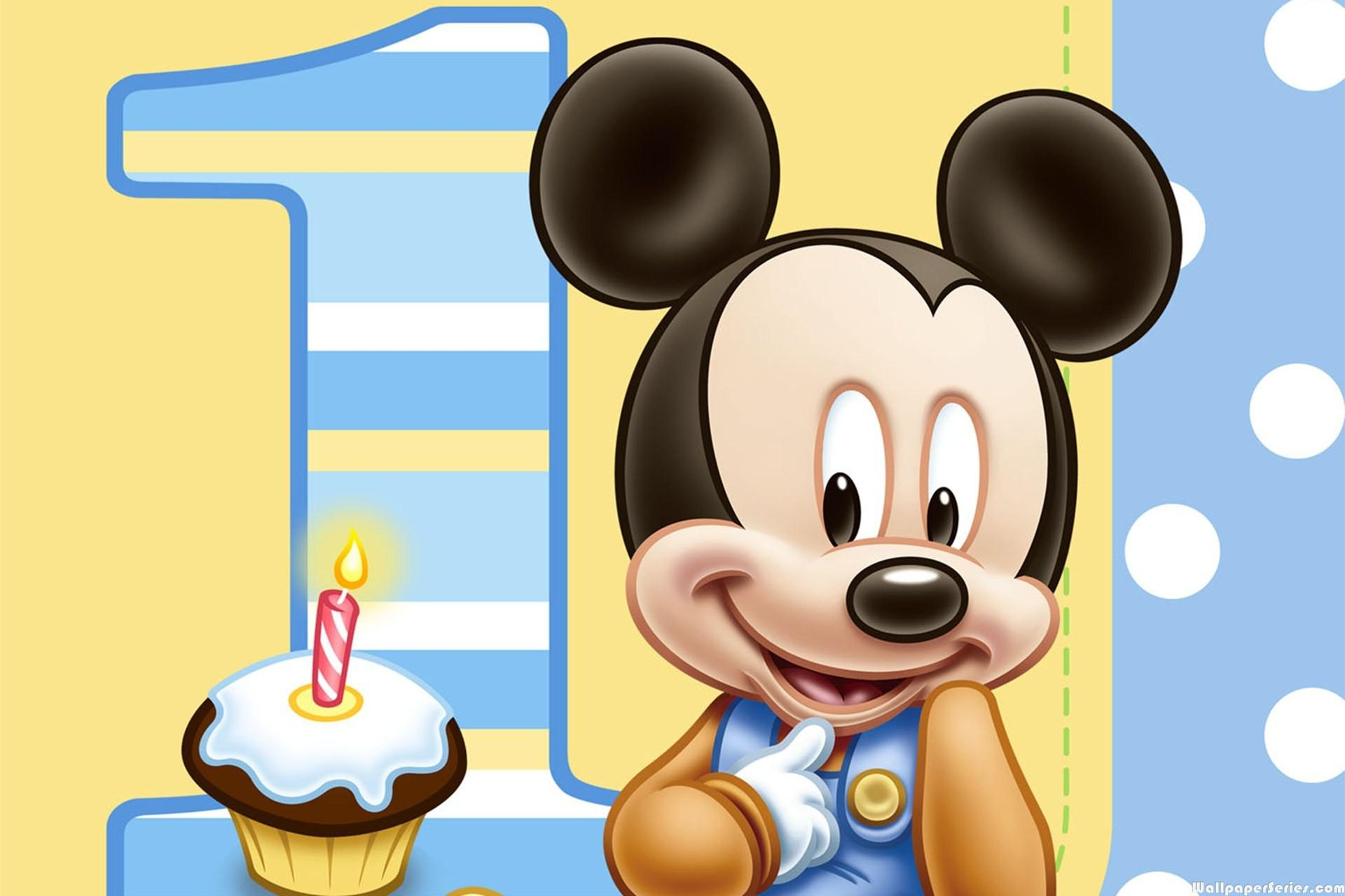 birthday wallpaper for baby ; baby-mickey-mouse-and-friends
