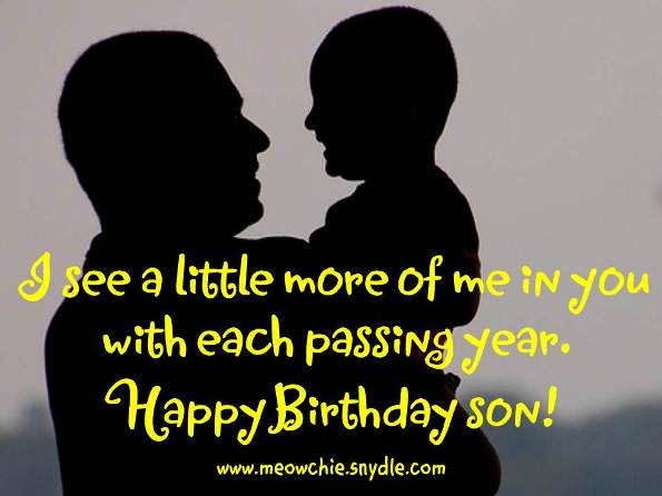 birthday wish to a son from father ; 9b07e1963565f4b1e5477fec012b617d