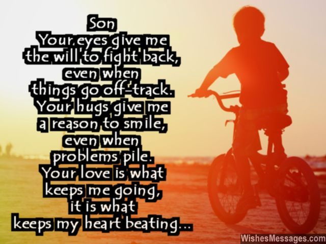 birthday wish to a son from father ; Dear-son-quote-beautiful-words-of-love-from-mom-dad-640x480