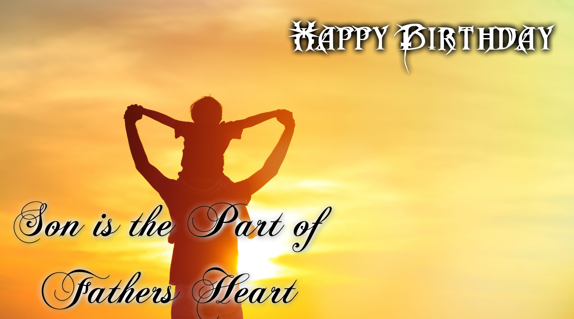birthday wish to a son from father ; Happy-birthday-son-3