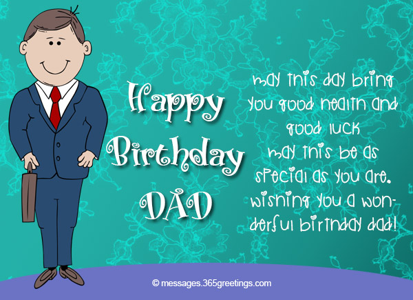 birthday wish to a son from father ; birthday-wishes-for-dad-12
