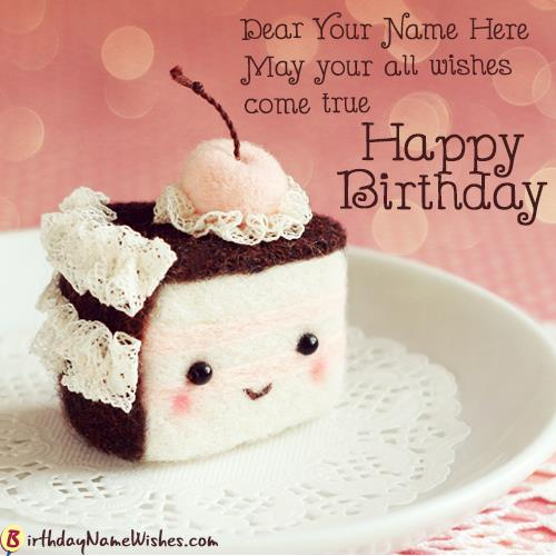 birthday wishes by name and photo ; birthday-wishes-cupcake-with-name-generator-d606