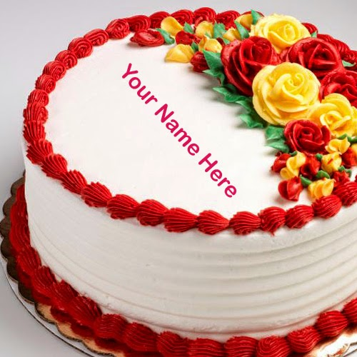 birthday wishes by name and photo ; birthday-wishes-for-friends-cake-with-name-14