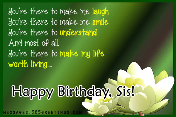 birthday wishes for younger sister poem ; birthday-wishes-for-your-sister