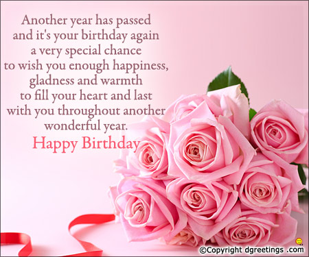 birthday wishes quotes ; birthday-again