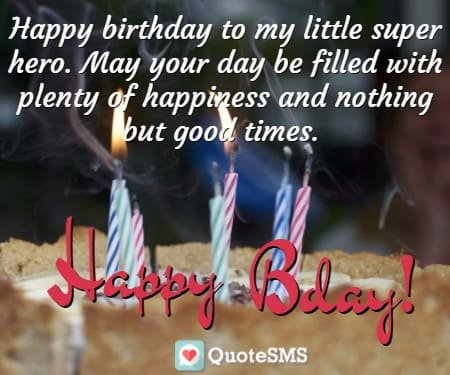 birthday wishes quotes ; cute-bday-sms