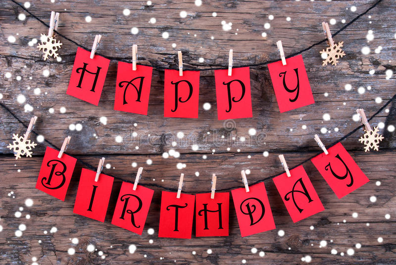 birthday wishes tags ; tags-happy-birthday-wishes-snow-many-red-line-hanging-front-rustic-wooden-panel-45925145