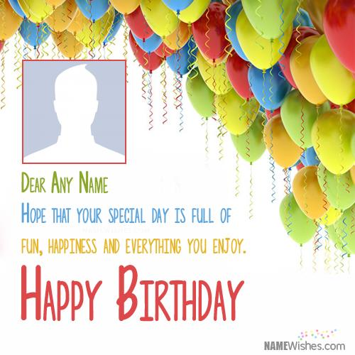 birthday wishes with photo and name editor ; birthday-wishes-for-friend-with-name-editing2238