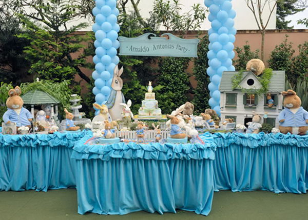 blue color themed birthday party ; 11-birthday-party-ideas-for-boys