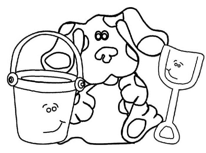 blues clues birthday coloring pages ; 2ce10f6d74f50d310cddaff72464b901