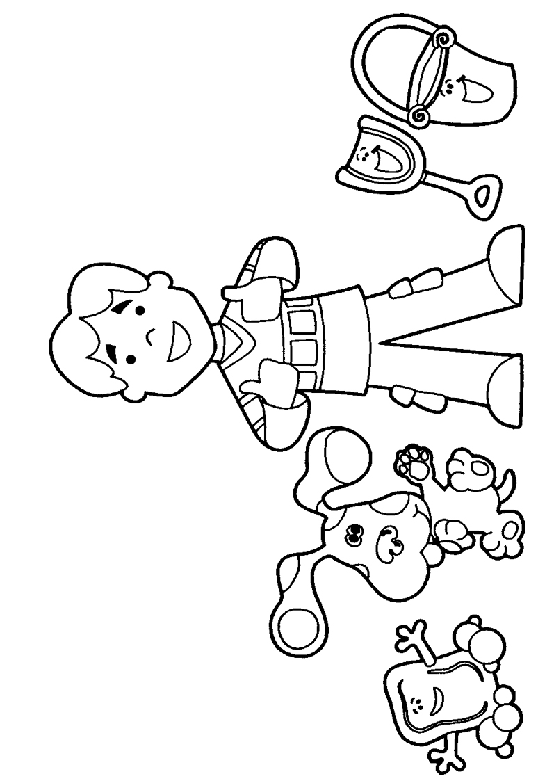 blues clues birthday coloring pages ; blues-clues-coloring-pages-jpg-774-1123-party-pinterest