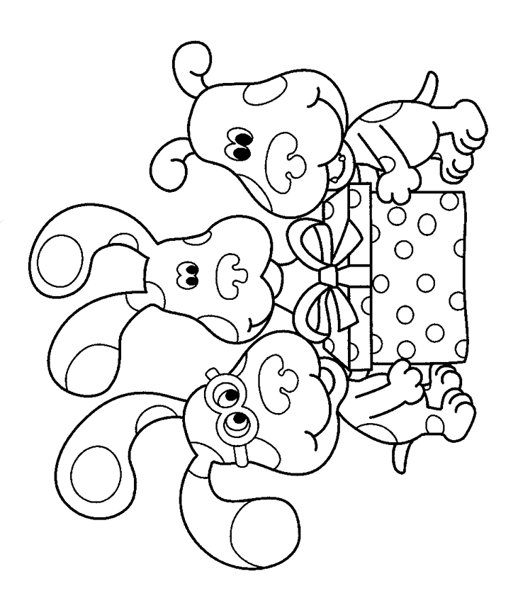 blues clues birthday coloring pages ; blues-clues_coloring_page_to_print