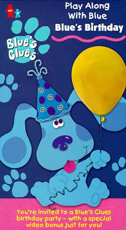 blues clues happy birthday ; 51KPPAXNYXL